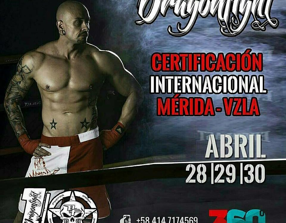 Certificacion dragon fight merida