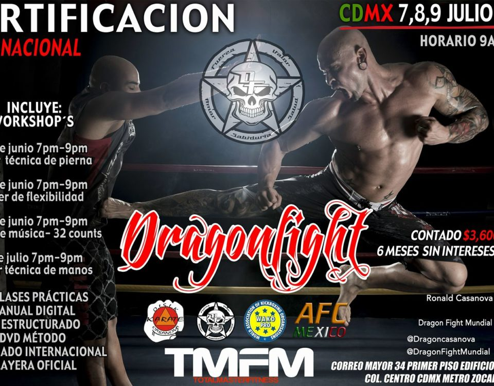 Certificacion Dragon Fight Mexico
